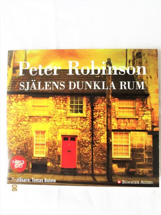 """Peter Robinson """"Själens Dunkla rum"""" mycket bra skick begagnad."""