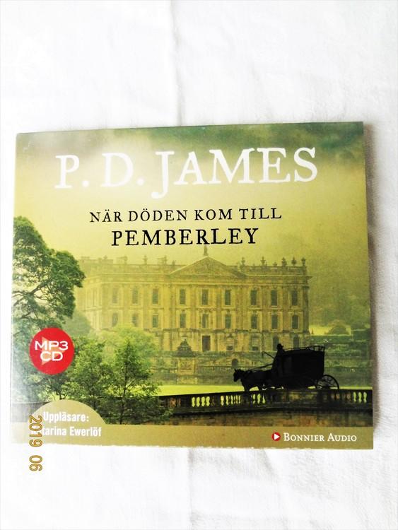 """P.D James """"När Döden Kom till Pemberley"""" mycket bra skick begagnad."""