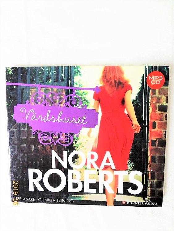 """Nora Roberts """"Värdshuset"""" 2014 1cd 9 tim 30 min Mycket bra skick Begagnad"""