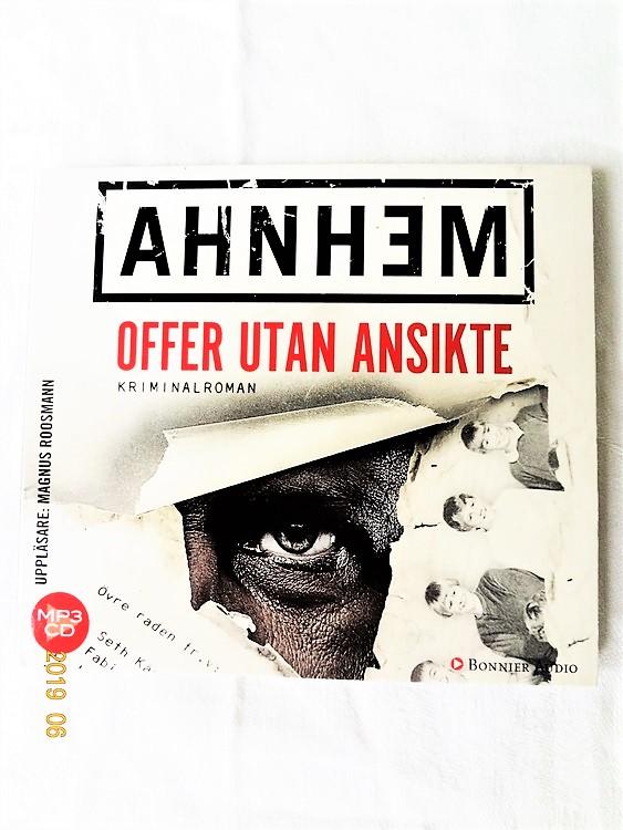 """Stefan Ahnhem""""Offer utan Ansikte"""" mycket bra skick begagnad."""