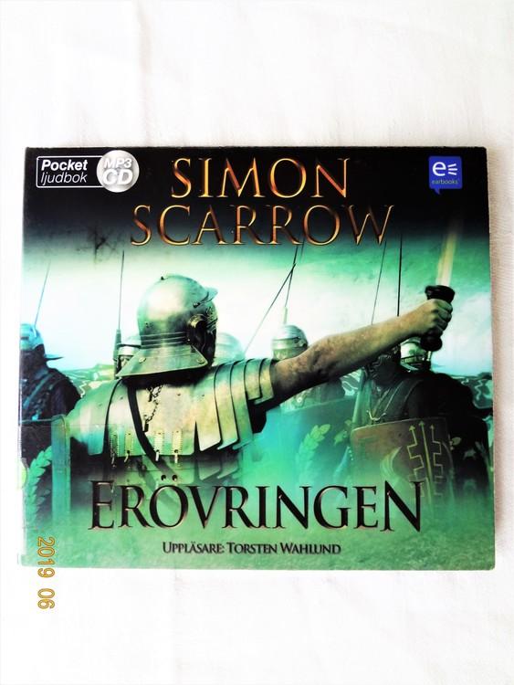 """Simon Scarrow """"Erövringen"""" mycket bra skick begagnad."""