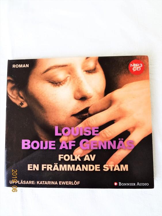 """Louise Boije Af Gennäs """"Folk av en främmande stam"""" mycket bra skick begagnad."""