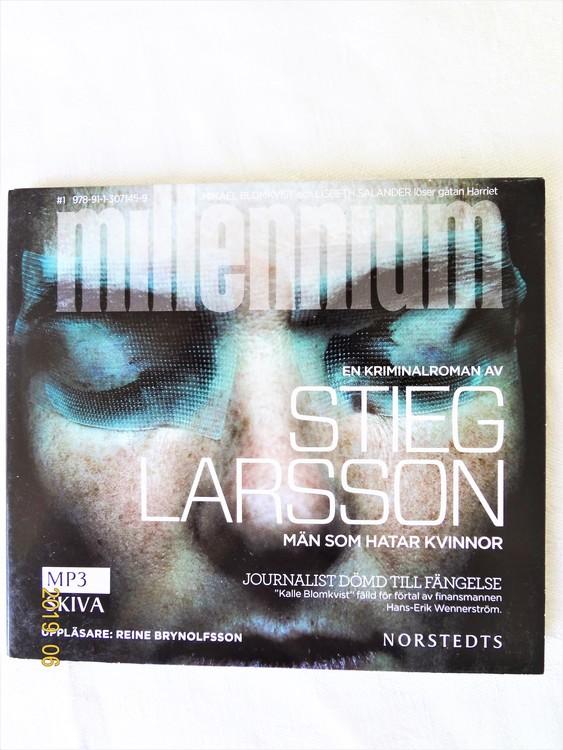 "Stieg Larsson ""Millennium"" mycket bra skick begagnad."