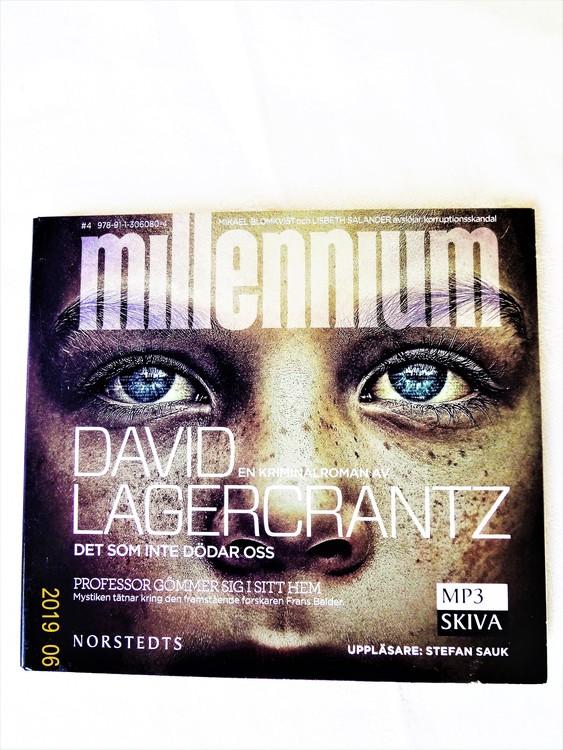 "David Lagercrantz ""Millennium"" mycket bra skick begagnad."