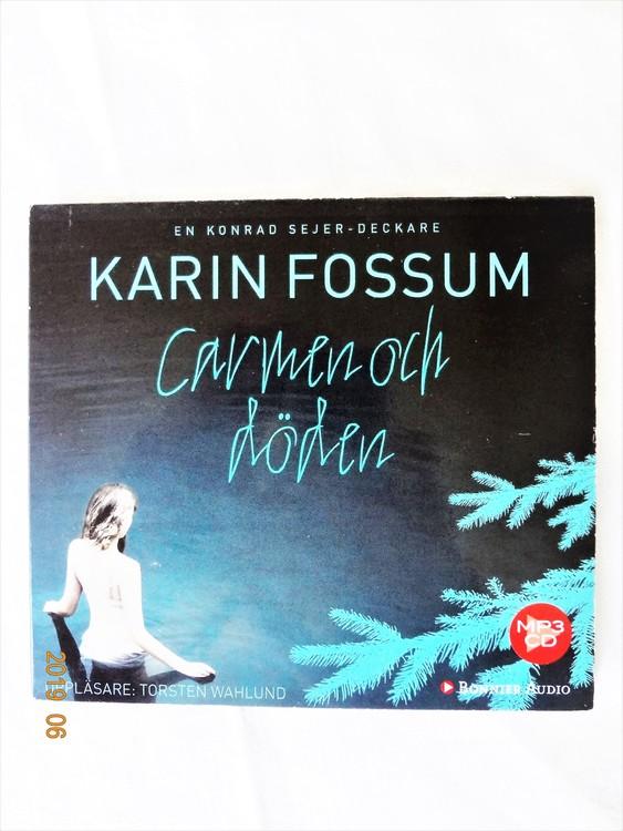 """Karin Fossum """"Carmen och Döden"""" mycket bra skick begagnad."""