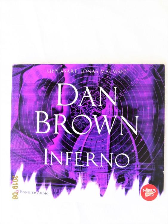 "Dan Brown ""Inferno"" mycket bra skick begagnad."