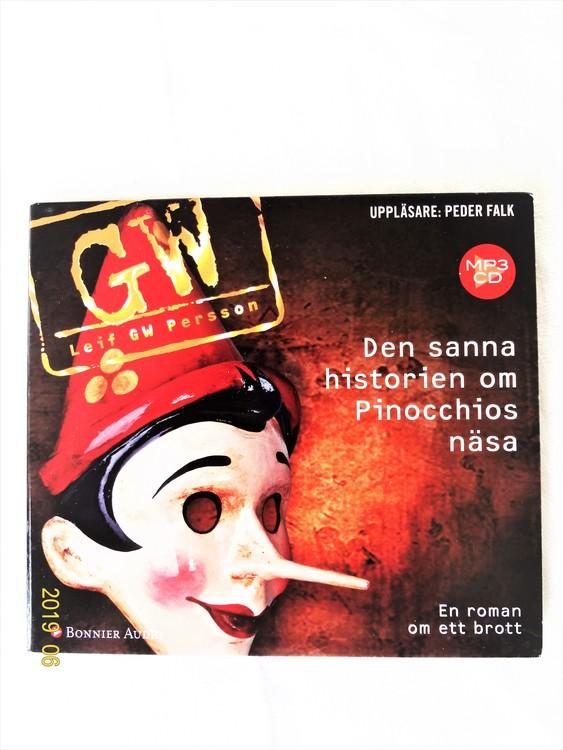 "Leif GW Persson""Den Sanna Historien om Pinocchios Näsa""mycket bra skick"