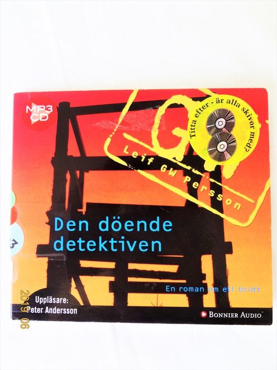 "Leif GW Persson ""Den Döende Detektiven"" mycket bra skick"