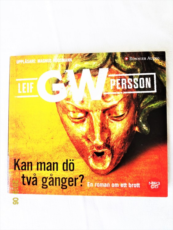 """Leif GW Persson """"Kan Man Dö Två Gånger"""" mycket bra skick"""