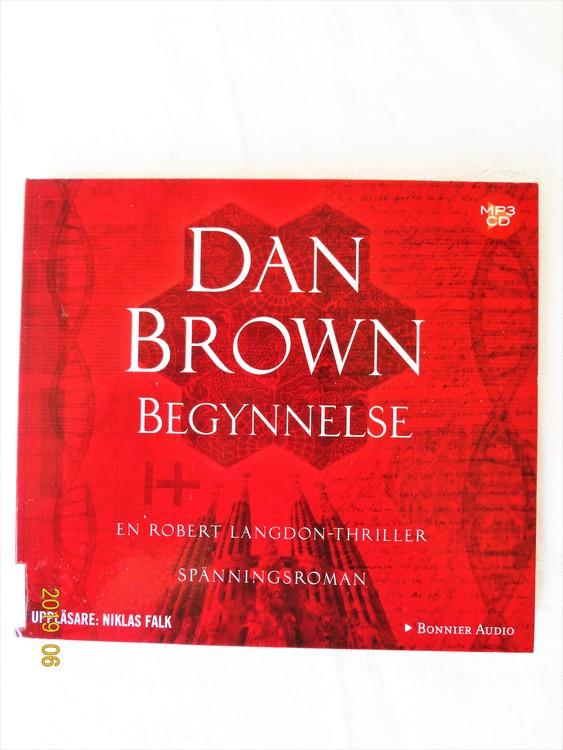 "Dan Brown ""Begynnelse"" mycket bra skick begagnad."
