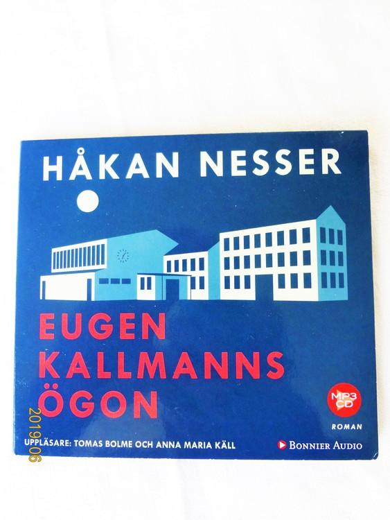 """Håkan Nesser """"Eugen Kallmanns Ögon"""" mycket bra skick begagnad."""