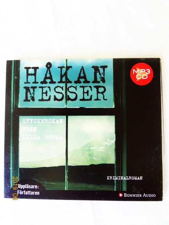 """Håkan Nesser """"Styckerskan Från Lilla Burma"""" mycket bra skick begagnad."""