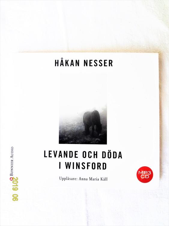 """Håkan Nesser """"Levande och Döda i Winsford"""" mycket bra skick begagnad."""