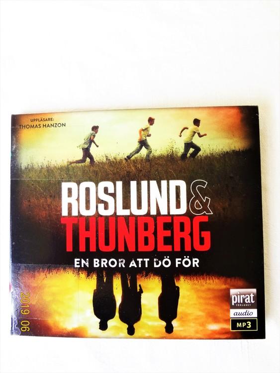 """Roslund & Thunberg """"En Bror Att Dö För"""" mycket bra skick begagnad."""