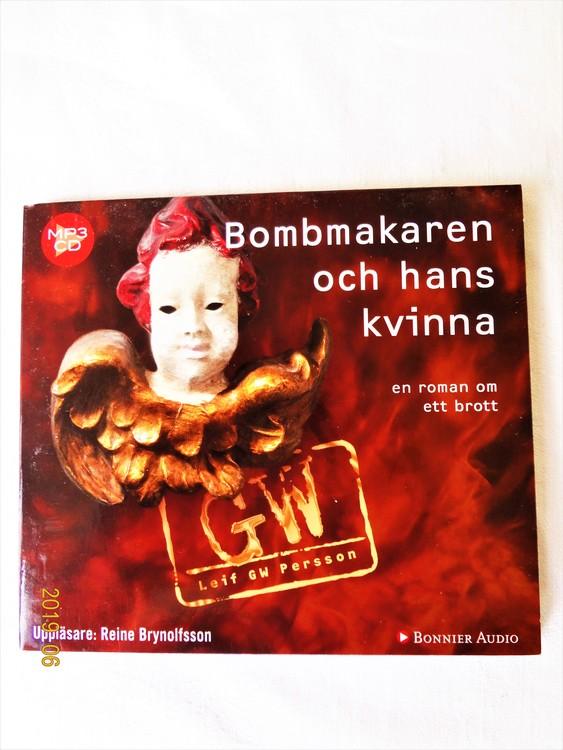 "Leif GW Persson""Bombmakaren och Hans Kvinna""mycket bra skick"