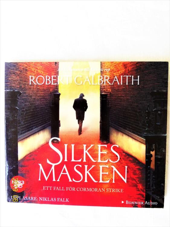 "Robert Calbraith ""Silkesmasken"" mycket bra skick begagnad."