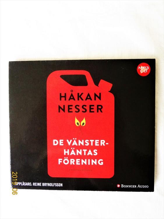 """Håkan Nesser """"De Vänster-häntasförening"""" mycket bra skick begagnad."""