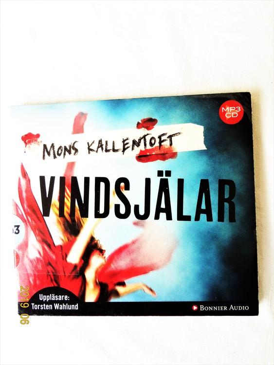 """Mons Kalentoft """"Vindsjälar"""" mycket bra skick begagnad."""