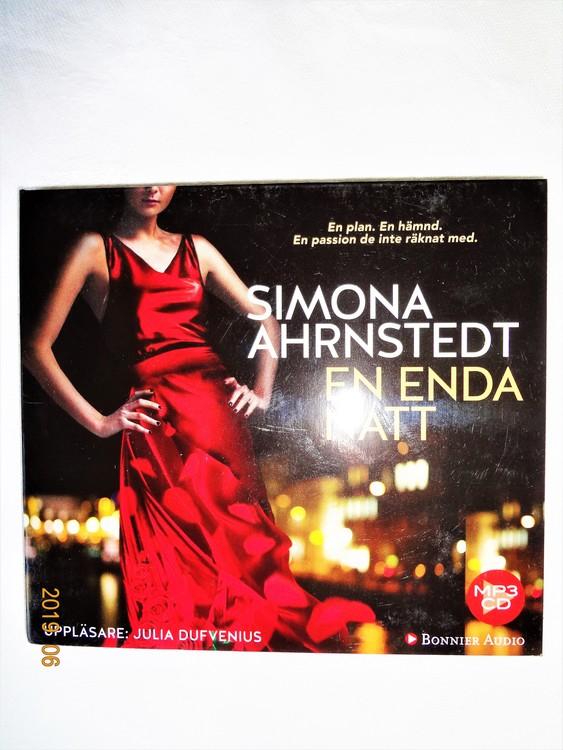 """Simona Ahrnstedt """"En enda Natt"""" mycket bra skick begagnad."""