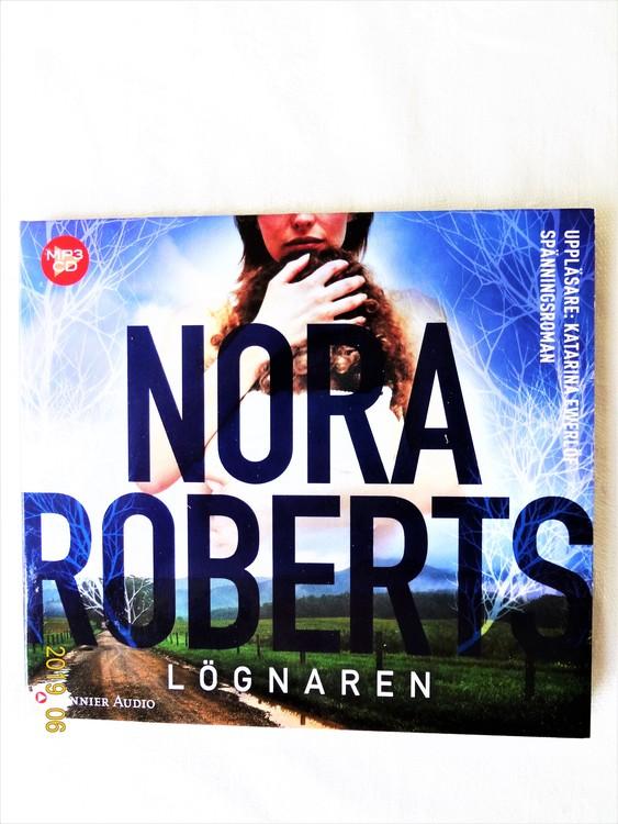 """Nora Roberts""""Lögnaren"""" Mycket bra skick Begagnad."""
