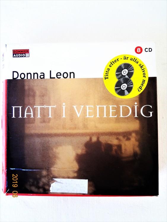 """Donna Leon """"En natt i Venedig"""" mycket bra skick begagnad."""