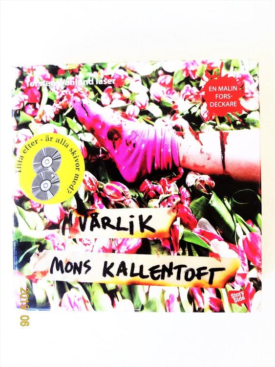 """Mons Kallentoft """"Vårlikt"""" mycket bra skick begagnad."""