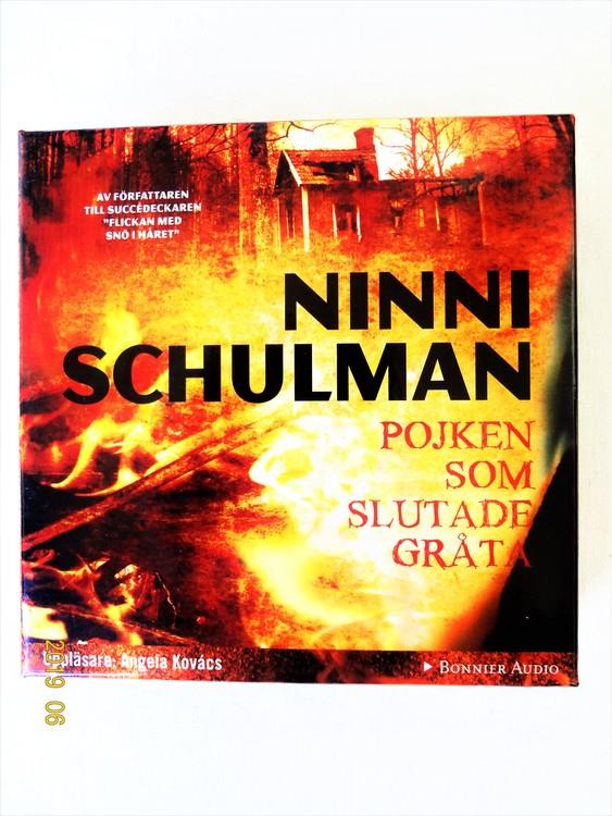 """Ninni Schulmann """"Pojken Som Slutade Gråta"""" mycket bra skick begagnad."""