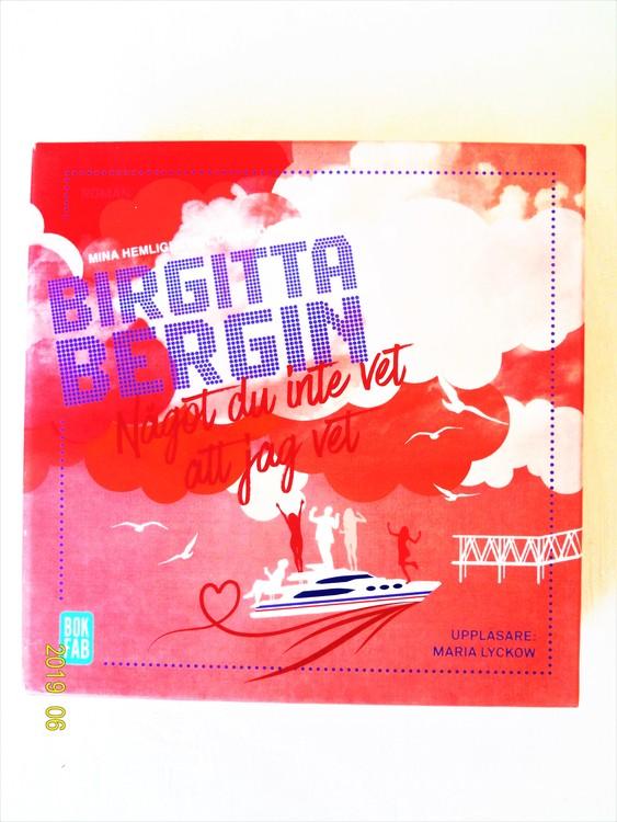 """Birgitta Bergin """"Något du inte vet att jag vet"""" mycket bra skick begagnad."""