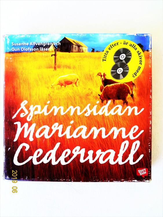 """Marianne Cederwall """"Spinnsidan"""" mycket bra skick begagnad."""