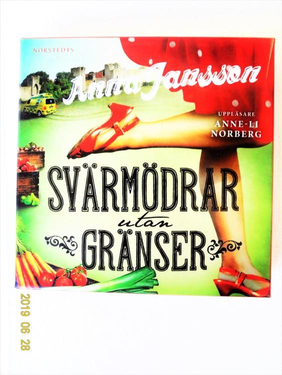 """Anna Jansson """"Svärmödrar Utan Gränser"""" mycket bra skick begagnad."""