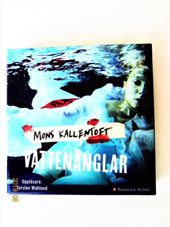 """Mons Kallentoft """"Vattenänglar"""" mycket bra skick begagnad."""