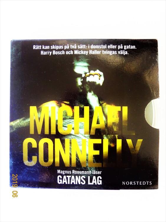 "Michael Connelly ""Gatans Lag"" mycket bra skick begagnad."