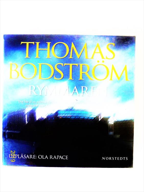 "Thomas Bodström ""Rymmaren"" mycket bra skick begagnad."