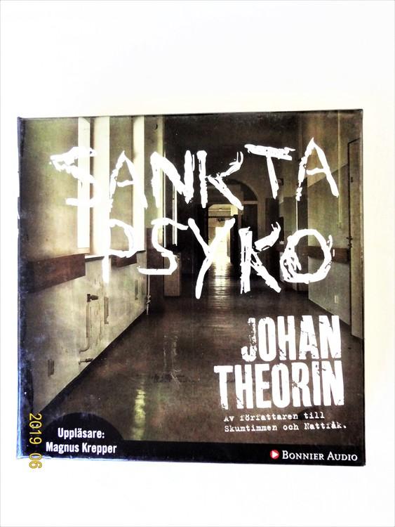 """Johan Theorin """"Sankta Psyko"""" mycket bra skick begagnad."""