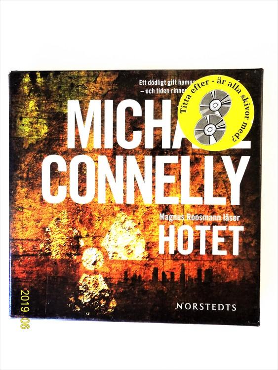 "Michael Connelly ""Hotet"" mycket bra skick begagnad."