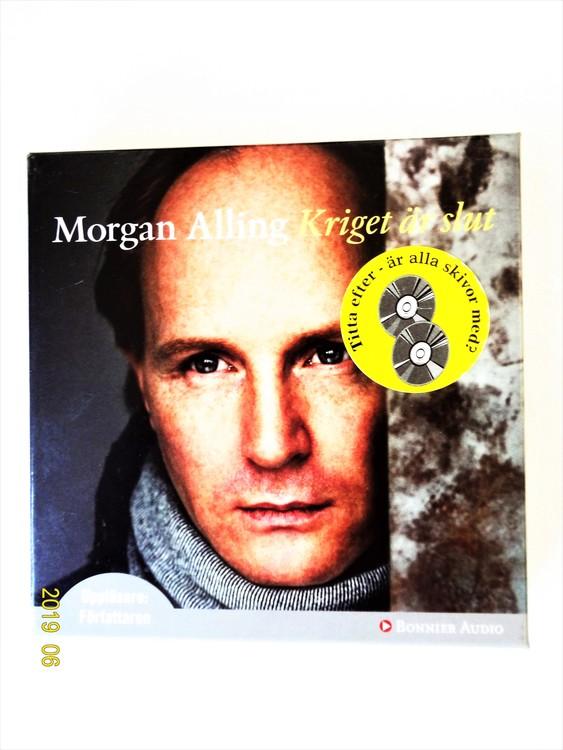 """Morgan Alling """"Kriget är Slut"""" mycket bra skick begagnad."""