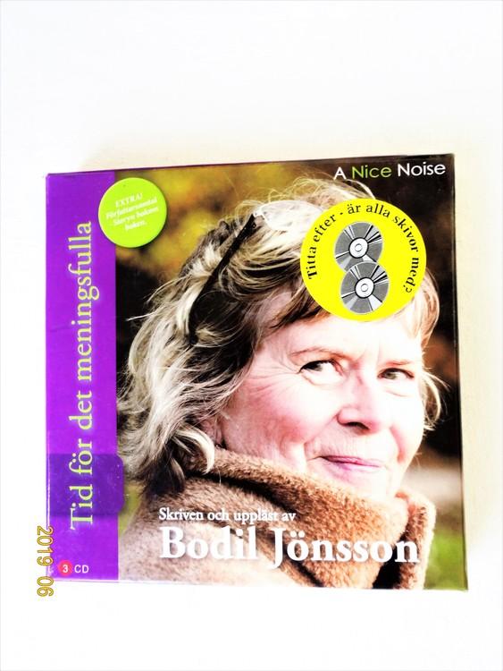 """Bodil Jönsson """"Tid För De Meningsfulla"""" mycket bra skick begagnad."""