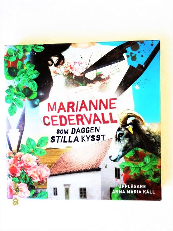 """Marianne Cedervall """"Som Dagen Stilla Kysst"""" mycket bra skick begagnad."""