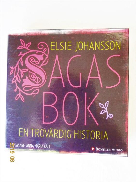 """Elsie Johansson """"Sagas Bok"""" mycket bra skick begagnad."""