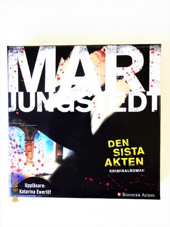 """Mari Jungstedt """"Den Sista Akten"""" mycket bra skick begagnad."""
