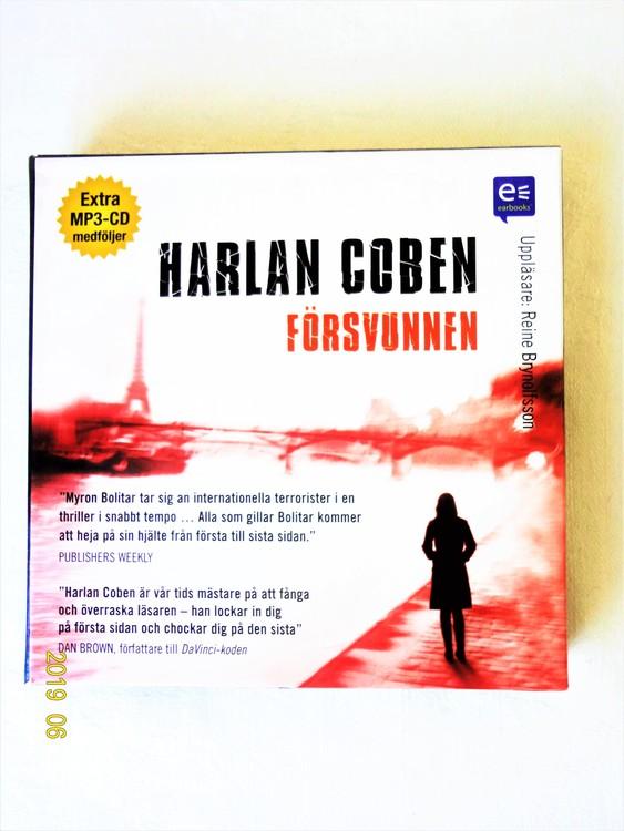 """Harlan Coben """"Försvunnen"""" mycket bra skick begagnad."""
