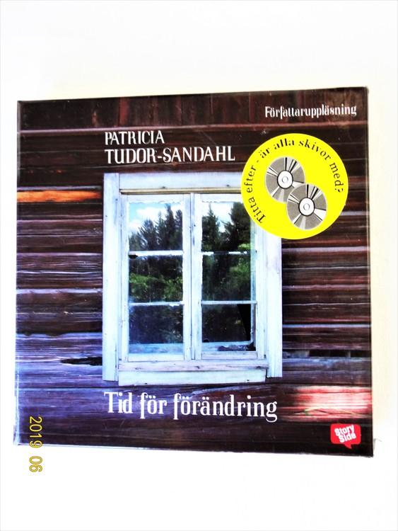 """Patricia Tudor-Sandahl """"Tid För Förändring"""" mycket bra skick Begagnad."""