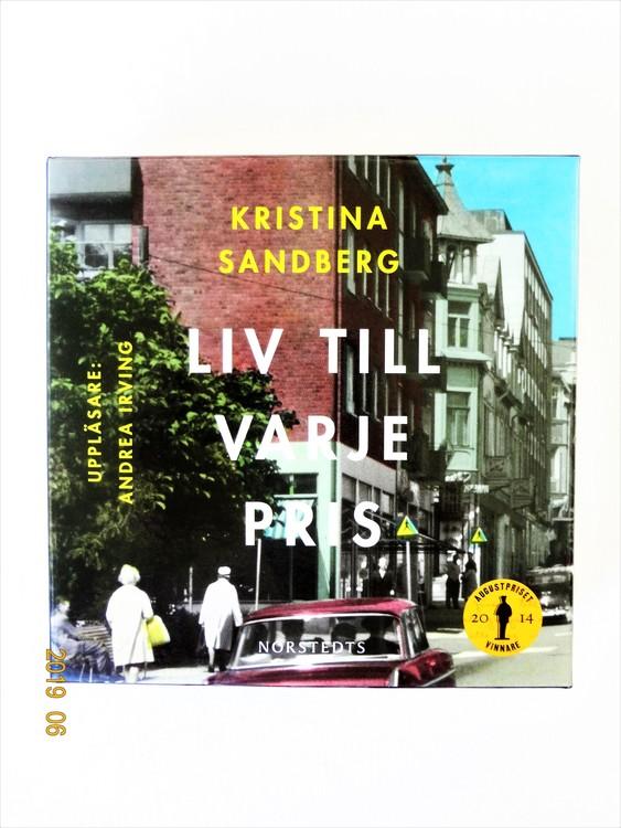 """Kristina Sandberg """"Liv Till Varje Pris"""" mycket bra skick Begagnad."""