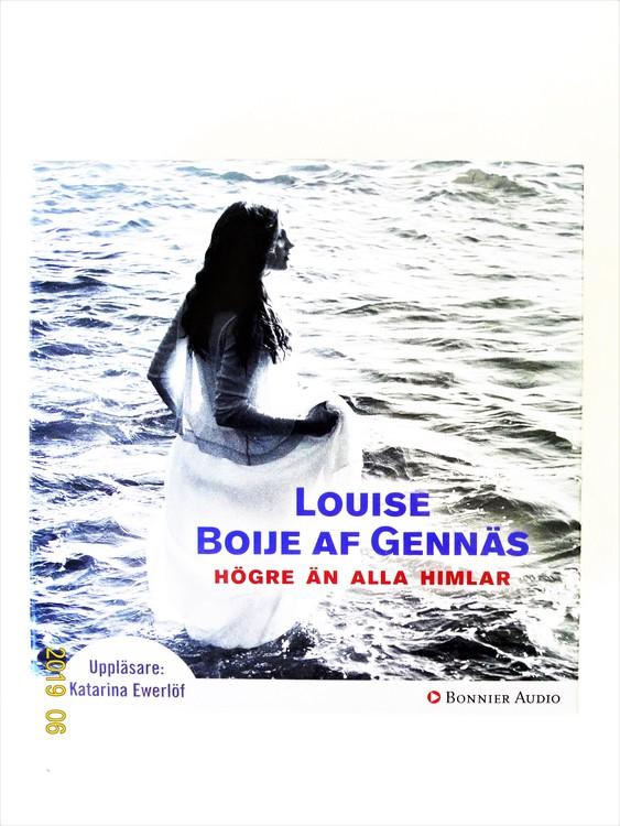 """Louise Boije Af Gennäs """"Högre Än Alla Himlar"""" mycket bra skick begagnad."""