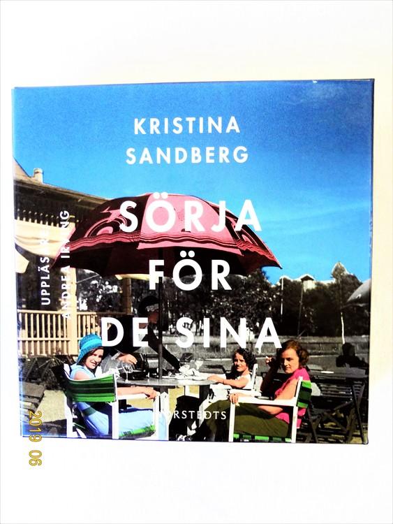 """Kristina Sandberg """"Sörja För De Sina"""" mycket bra skick Begagnad."""