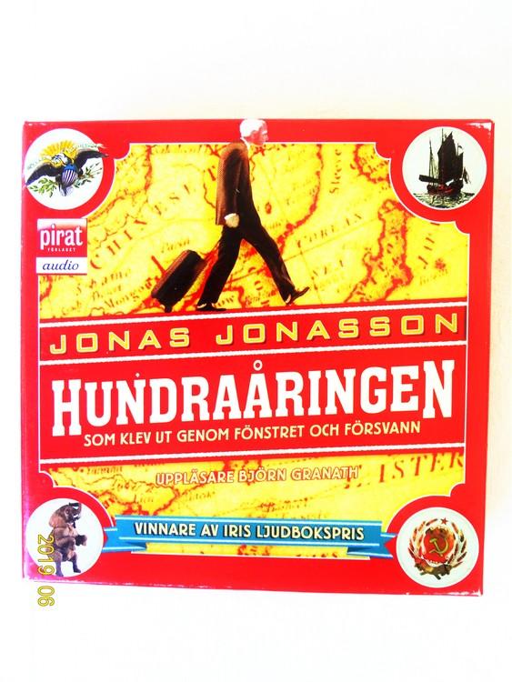 """Jonas Jonasson """"Hundraåringen"""" mycket bra skick Begagnad."""