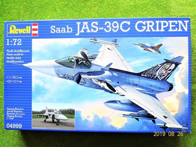 Sabb JAS-39C GRIPEN 1/72 Revell Plastbyggsats