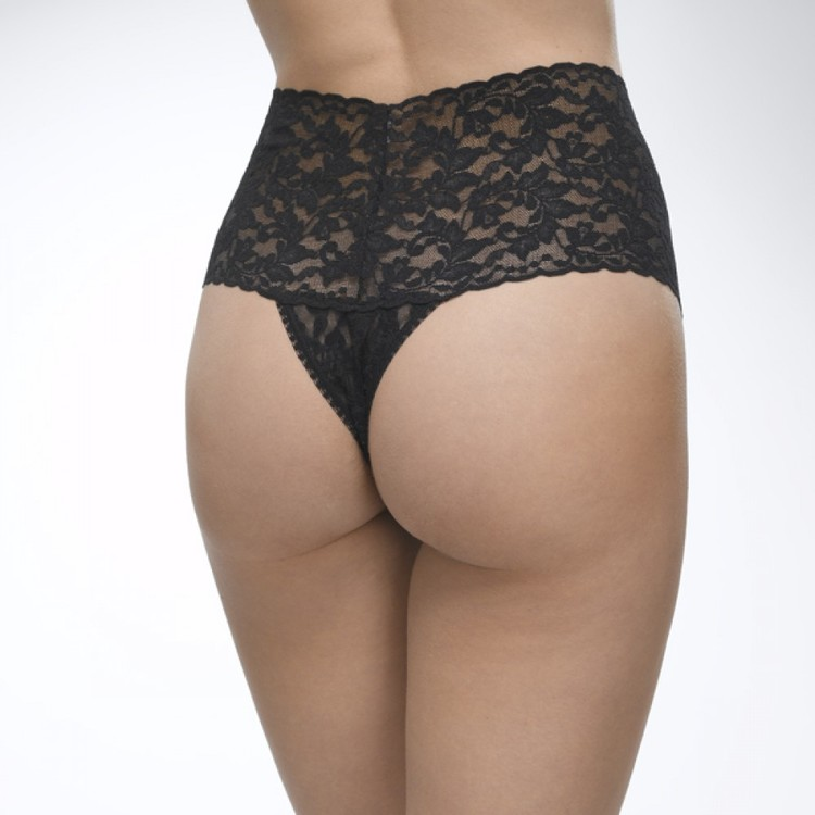 Retro Lace Thong Marshmallows- Hanky Panky