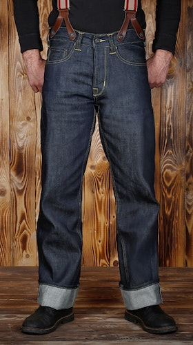 Jeans 1937 Roamer Pant 11oz metall - Pike Brother
