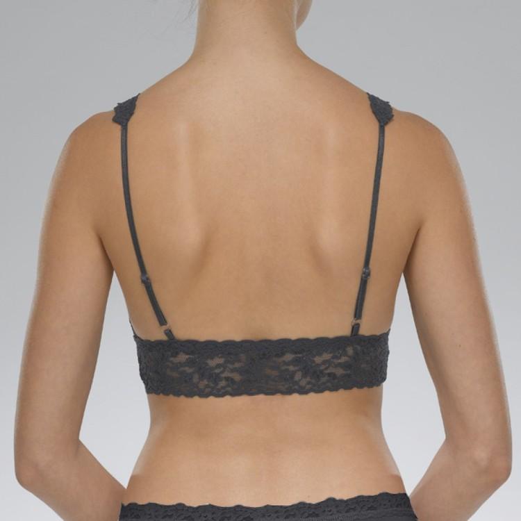 Bh Signature Lace Bralette Black - Hanky Panky